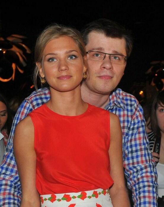 Кристина Асмус и Гарик Харламов. / Фото: www.instagram.com