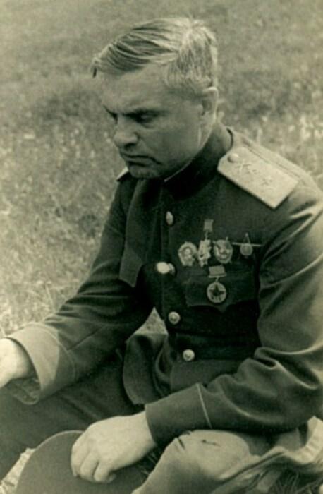 Василий Казаков, Курск, июль 1943 года. / Фото: www.marshalkazakov.ru