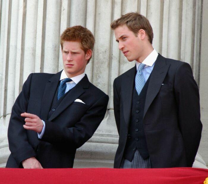 Принц Уильям и принц Гарри. / Фото: www.yahoo.com