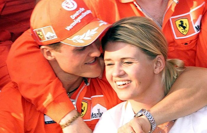 Михаэль и Коринна Шумахер. / Фото: www.zurnal24.si