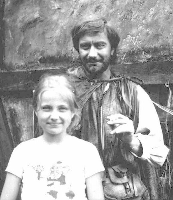 Мария Миронова с отцом. / Фото: www.mt.ru