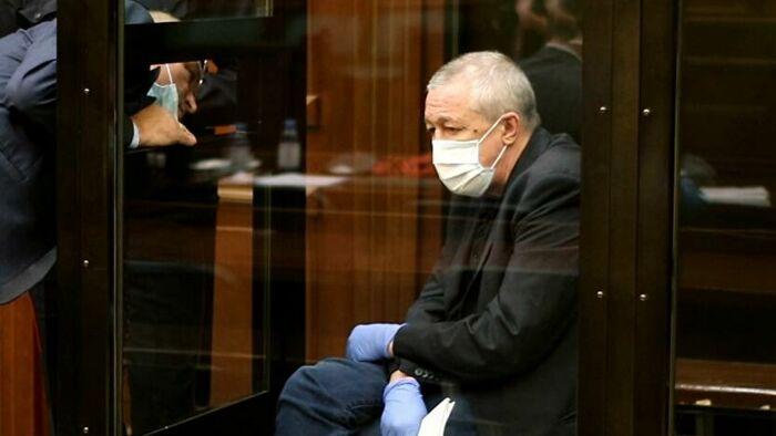 Михаил Ефремов в зале суда. / Фото: www.news2world.net