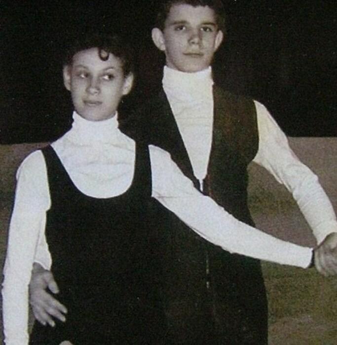 Ирина Моисеева и Андрей Миненков в самом начале спортивного пути. / Фото: www.kino-teatr.ru
