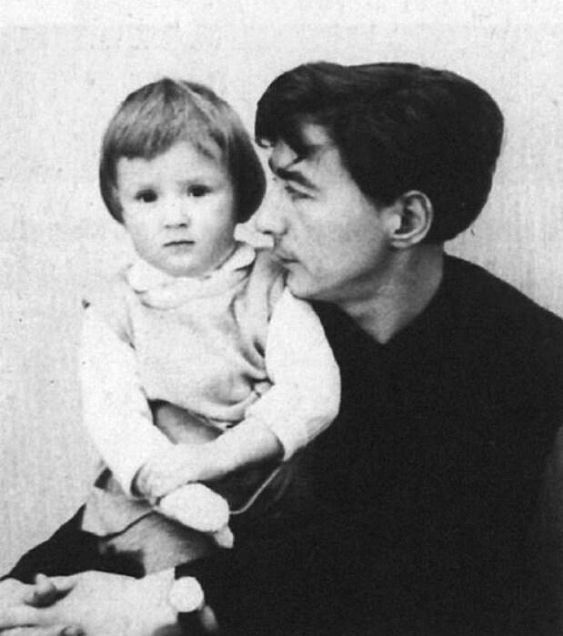 Эдуард Успенский с дочерью Татьяной. / Фото: www.livejournal.com