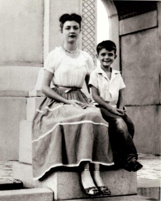 Бетт Несмит Грэм с сыном. / Фото: www.blogspot.com