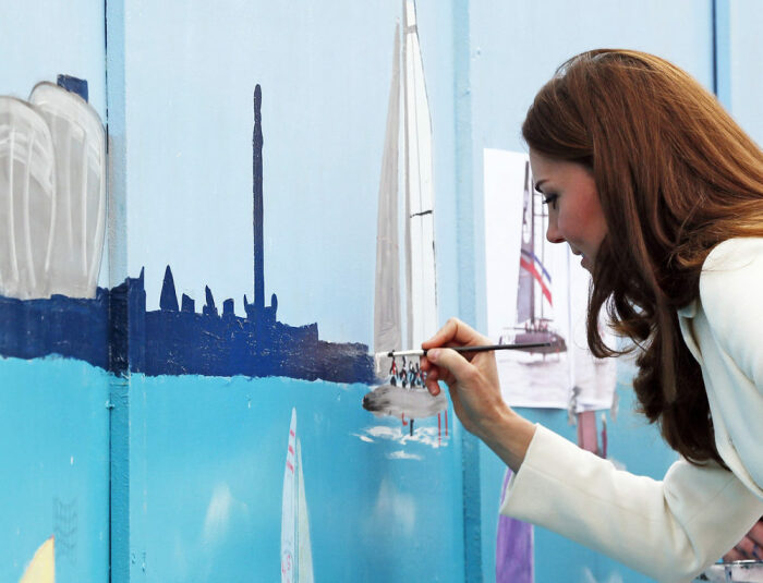 Кейт Миддлтон. / Фото: www.glamour.ru