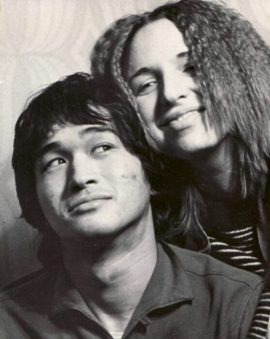 Виктор Цой и Марьяна Родованская. / Фото: www.uduba.com