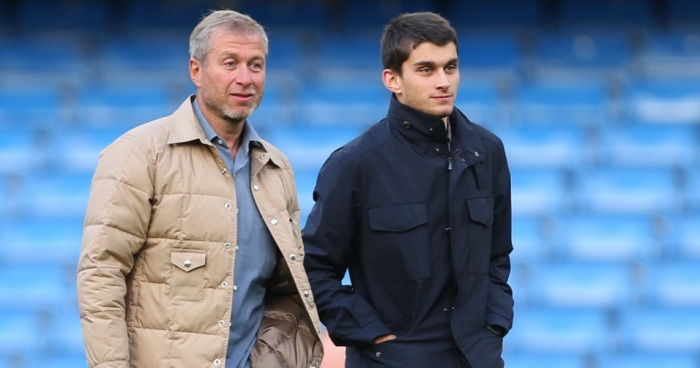 Аркадий Абрамович с отцом. / Фото: www.yellowsport.ru