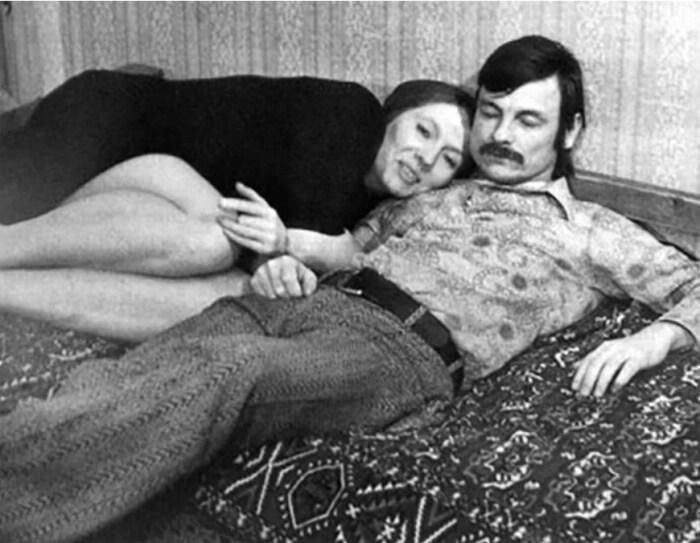 Андрей Тарковский и Лариса Кизилова. / Фото: www.kinopoisk.ru