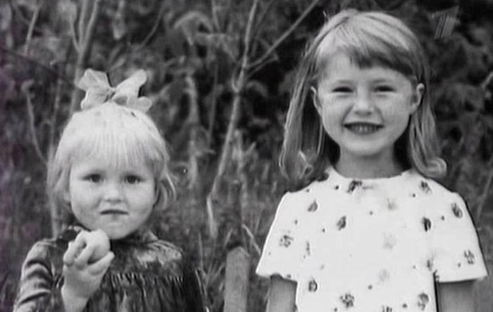 Мария и Ольга Шукшины в детстве. / Фото: www.host2k.ru