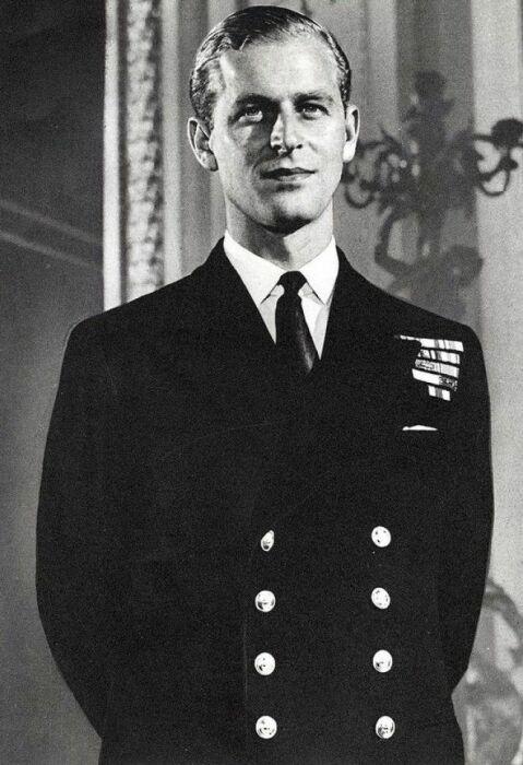Принц Филипп в молодости. / Фото: www.interesno.cc