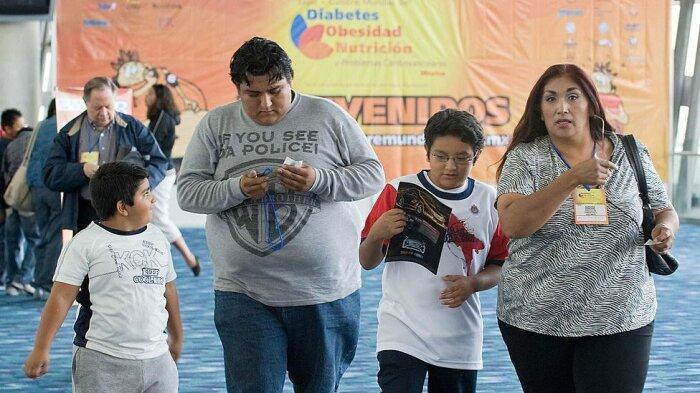 В Мексике очень много тучных людей. / Фото: www.doosar.com