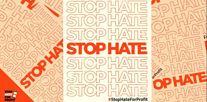 #StopHateForProfit. / Фото: www.thedrum.com