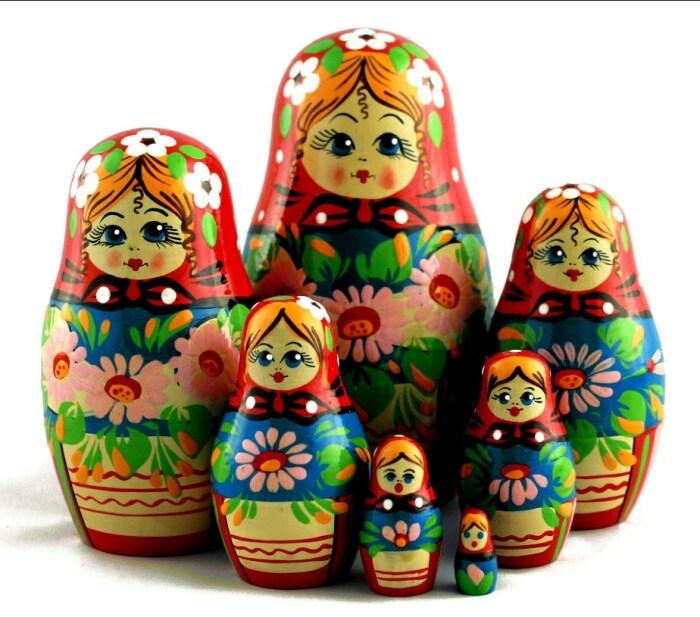 Матрёшка. / Фото: www.alicdn.com