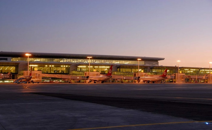 Аэропорт в Анкаре. / Фото: www.makpa.com