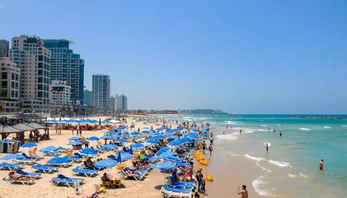 Пляж Иерусалим в Тель-Авиве. / Фото: www.kuku.travel