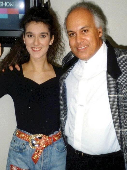 Селин Дион и Рене Анжелил. / Фото: www.wtalks.com
