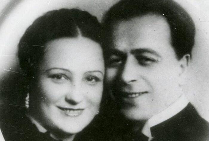 Вера Давыдова и Дмитрий Мчедлидзе. / Фото: www.kartvelebi.ru