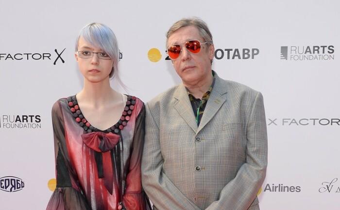 Анна-Мария Ефремова с отцом. / Фото: www.jauns.lv