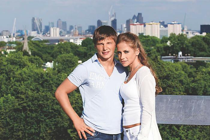 Юлия Барановская и Андрей Аршавин. / Фото: www.pravda-nn.ru