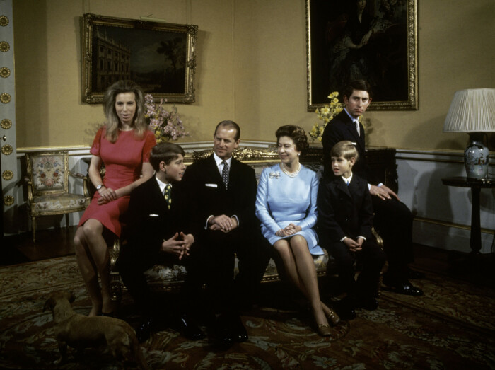 Королевская семья. / Фото: www.rustars.tv