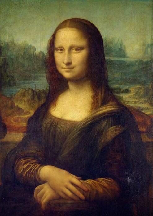 «Мона Лиза», Леонардо да Винчи. / Фото: www.thebiggest.ru