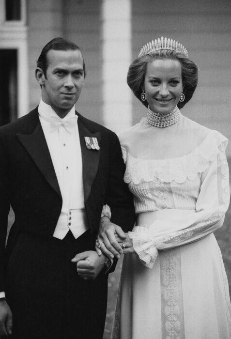 Принц Майкл Кентский и его супруга в день свадьбы в 1978 году. / Фото: www.newsroyal.ru