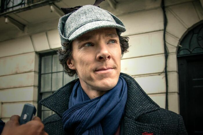 Бенедикт Камбербэтч в роли Шерлока Холмса. / Фото: www.kinopab.net