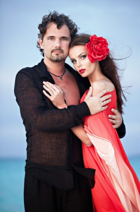 Юлия и Дмитрий Лошагины. / Фото: www.vinegret.cz