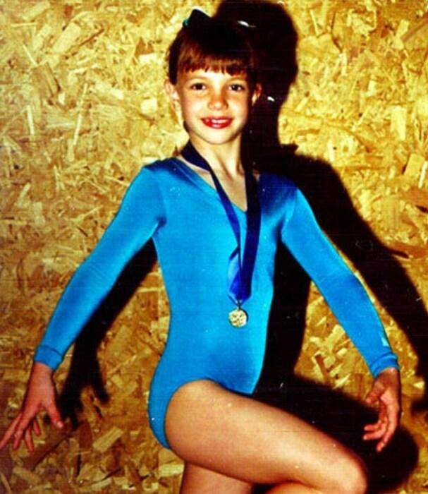 Бритни Спирс в детстве. / Фото: www.stuki-druki.com