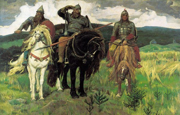 «Богатыри», Виктор Васнецов. / Фото: www.wikipedia.org