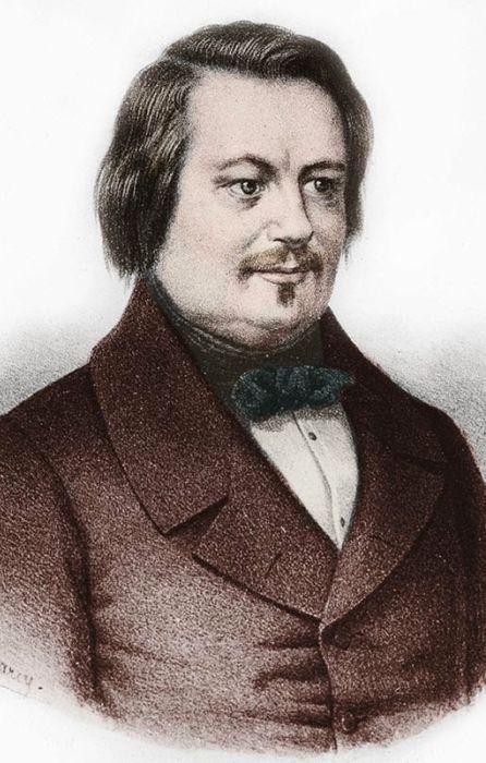 Оноре де Бальзак. / Фото: www.blogspot.com