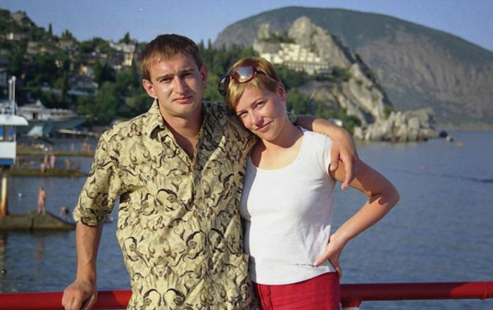 Константин Хабенский и Анастасия Смирнова. / Фото: www.soyuz.ru