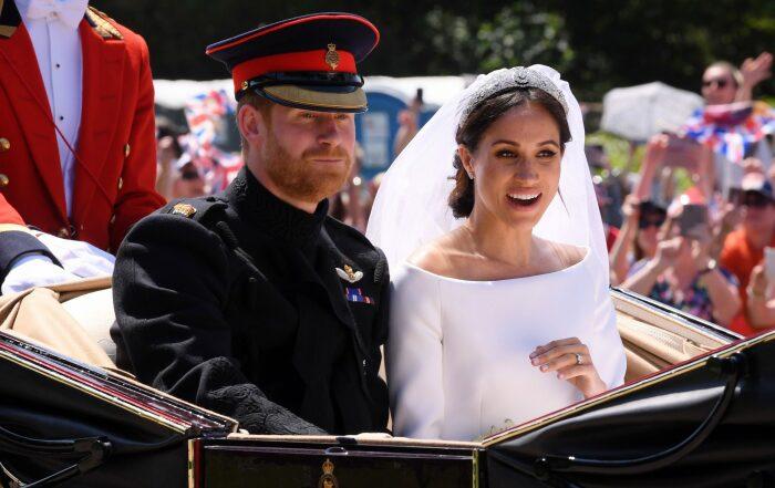 Принц Гарри и Меган Маркл. / Фото: www.goodto.com