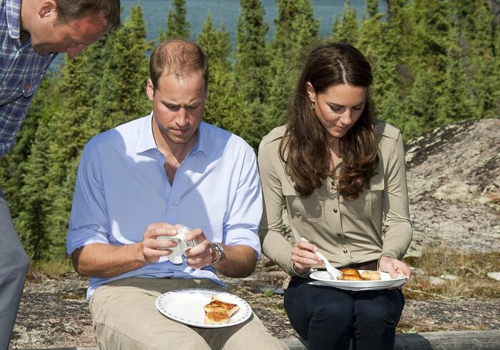 Кейт Миддлтон и принц Уильям. / Фото: www.elle.ua