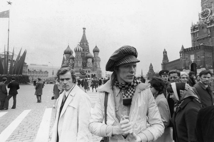 Дэвид Боуи на Красной площади. / Фото: www.rbth.com