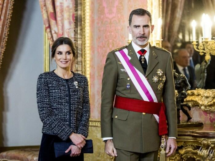 Король Филипп IV и королева Летиция. / Фото: www.golos.ua