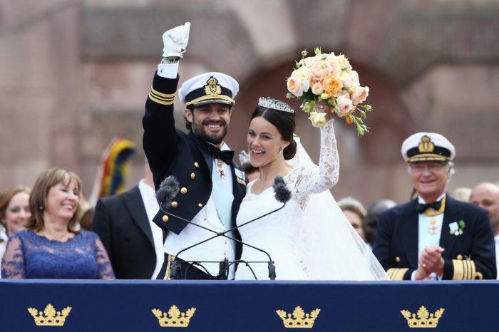 София Хелльквист и принц Карл Филипп. / Фото: www.glamour.ru