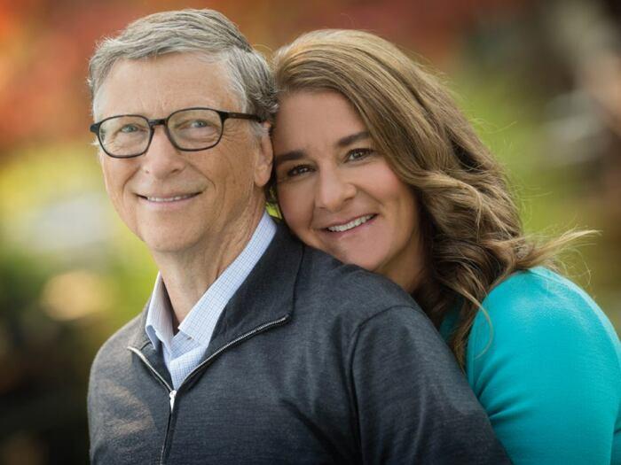 Билл и Мелинда Гейтс. / Фото: www.businessman.ru
