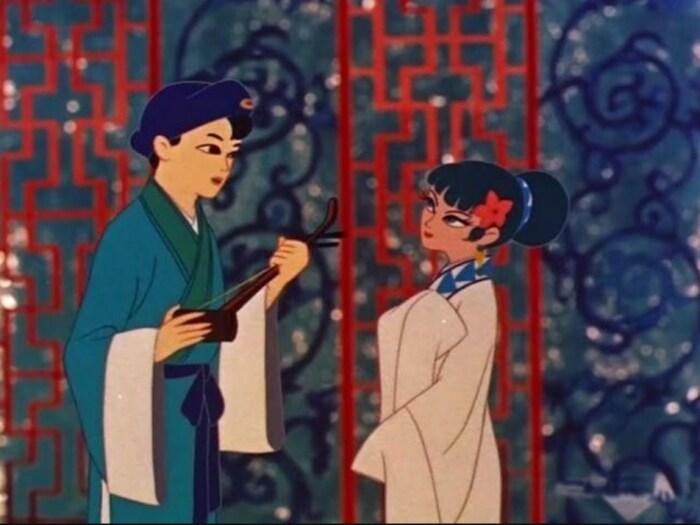 Кадр из аниме «Легенда о белой змее». / Фото: www.f.kinozon.tv