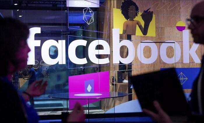 Стенд Facebook на конференции в Калифорнии. / Фото: www.ria.ru