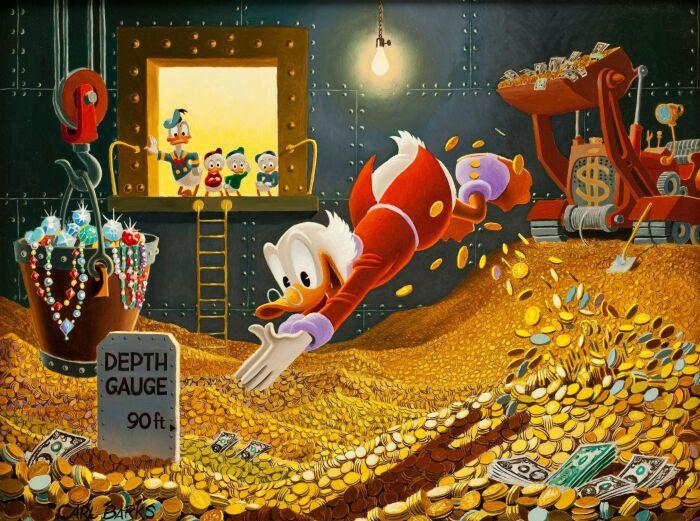 Кадр из мультсериала «Утиные истории». / Фото: www.hallaminternet.com