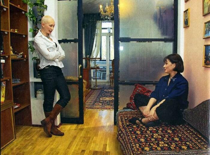 Галина Беседина и Татьяна Васильева. / Фото: www.kino-teatr.ru