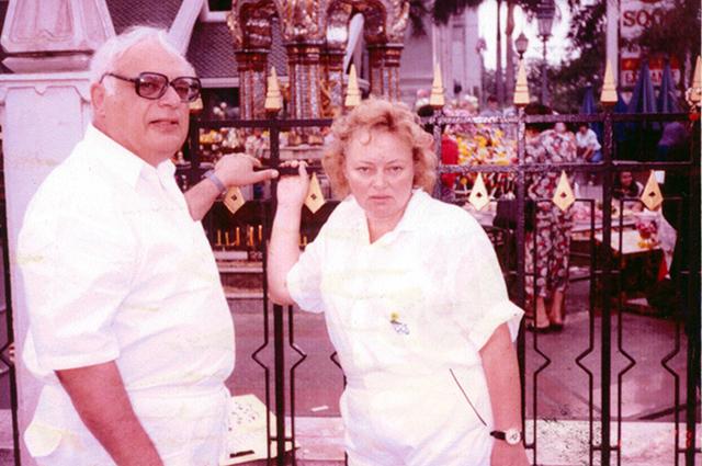 Владимир Ворошилов и Наталия Стеценко. / Фото: www.spletnik.ru