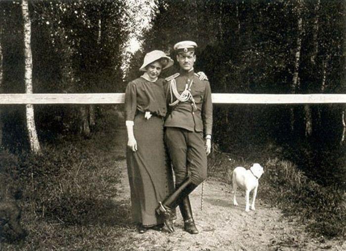 Михаил Романов и Наталья Вульферт. / Фото: www.pinimg.com