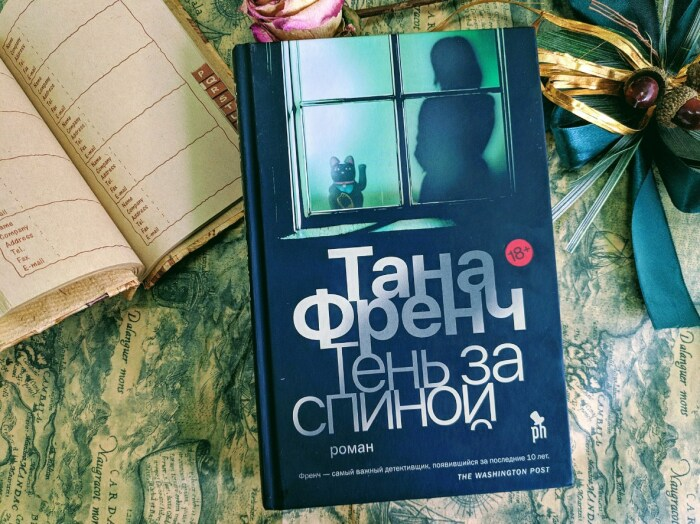 «Тень за спиной», Тана Френч. / Фото: www.livelib.ru