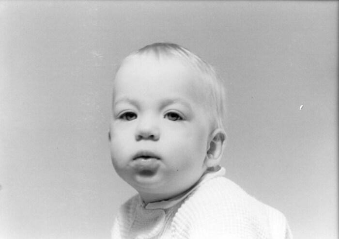 Альфред Хичкок в детстве. / Фото: www.twimg.com