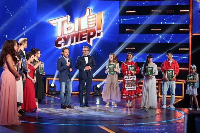 Кадр со съёмок шоу «Ты супер!» / Фото: www.szaopressa.ru