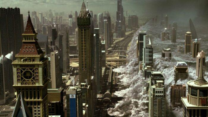 Кадр из фильма «Геошторм». / Фото: www.kinopoisk.ru