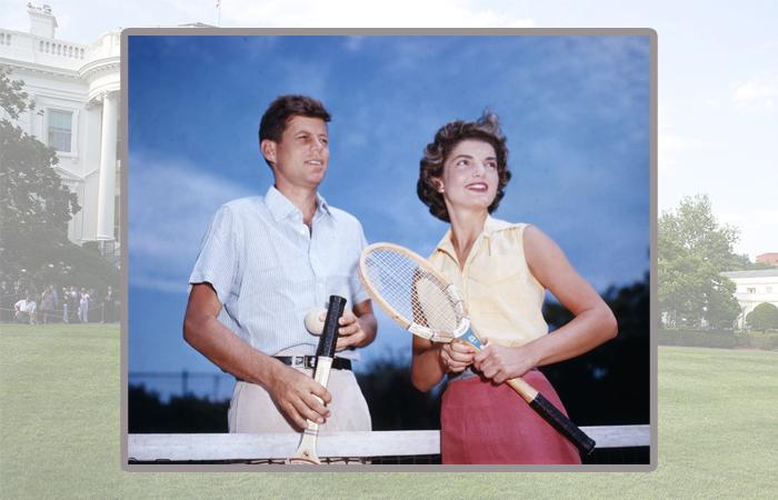 Джон и Жаклин Кеннеди.